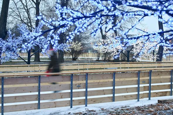 Бегущий на лезвиях: Первые посетители катка в парке Горького. Изображение № 13.