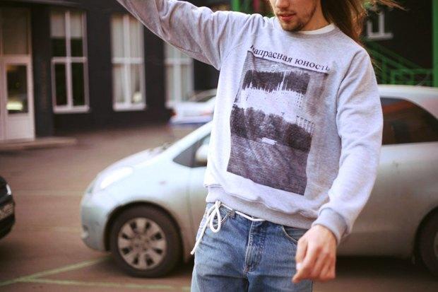 Где купить мужской свитшот: 9вариантов от1200 рублей до10тысячрублей. Изображение № 2.