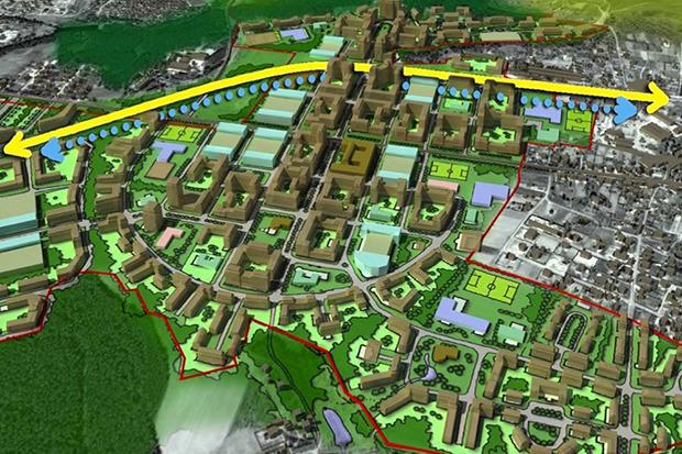 Представлены доработанные проекты развития Московской агломерации. Изображение №1.