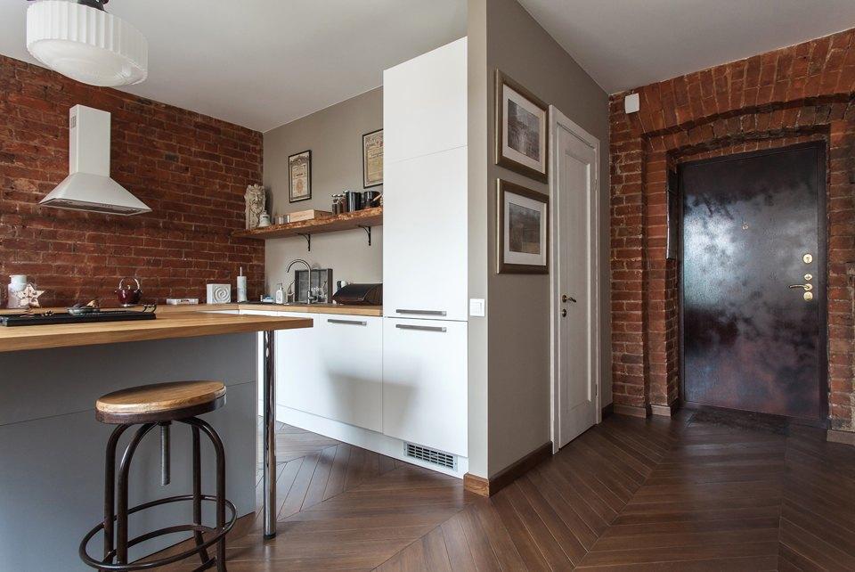 Квартира-студия длякраткосрочнойаренды наТрубной. Изображение № 9.