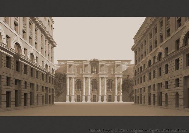 У судебного квартала наПетроградской стороне сменится архитектор. Изображение № 3.