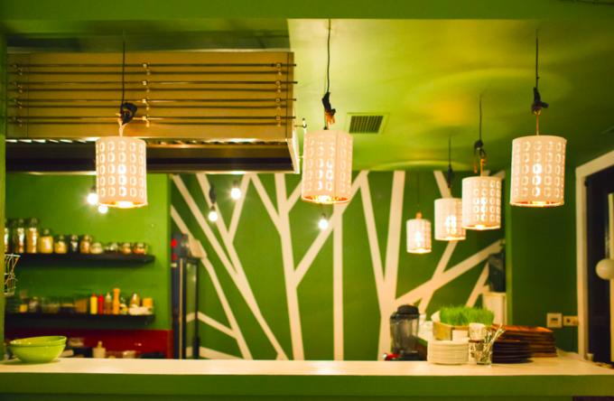 В Мясницком проезде открылось сыроедческое кафе «Шанти Green». Изображение № 2.