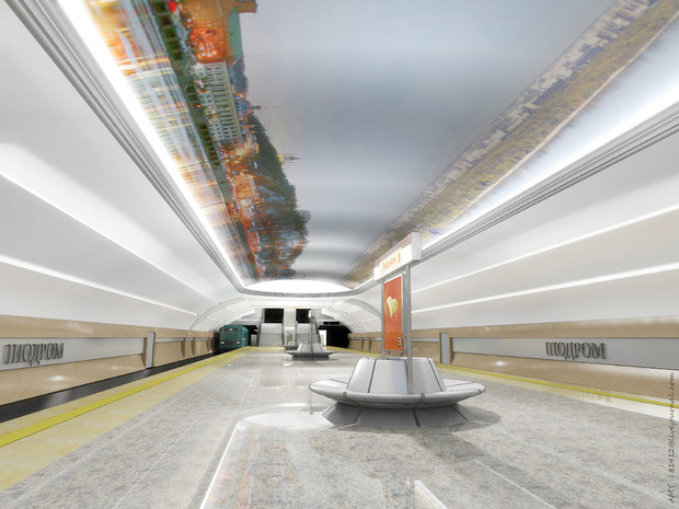 Станцию метро «Ипподром» откроют 25 октября. Зображення № 6.