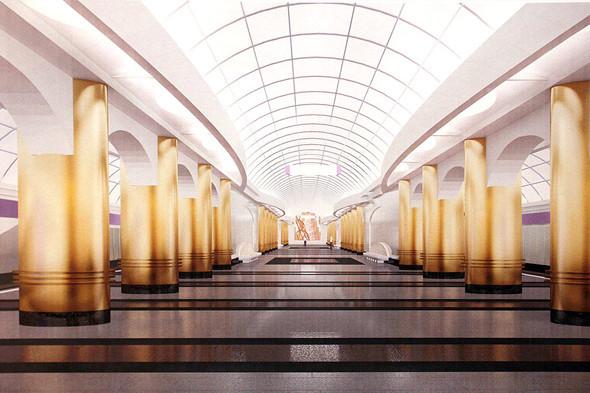 Станция метро «Международная». Изображение № 6.