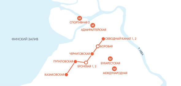 Классическая развязка: 7 транспортных решений Петербурга. Изображение № 10.