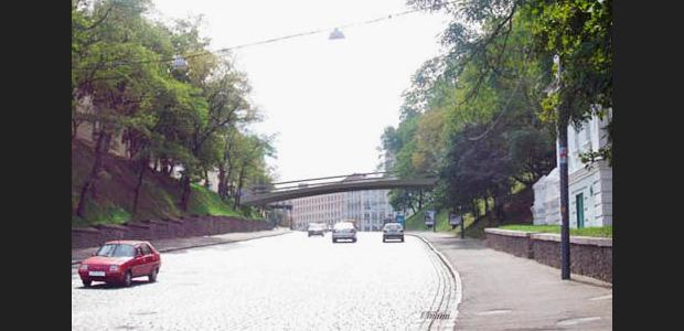 Проект моста через Владимирский спуск. Изображение № 3.