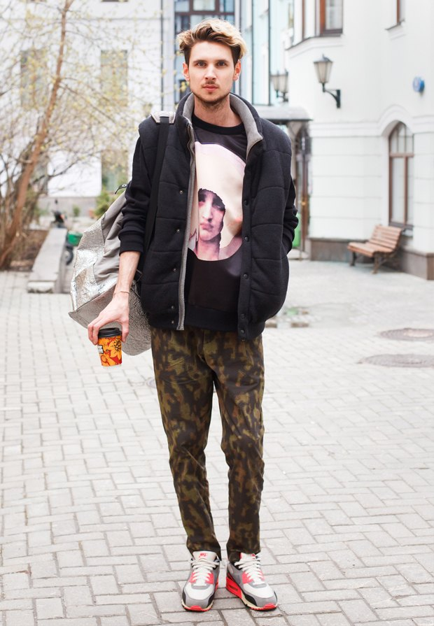 Внешний вид (Москва): ЕвгенийЗубов, арт-директор Annie Hall. Изображение № 1.
