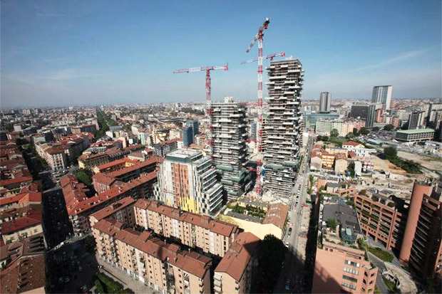 Идеи для города: Вертикальный лес вцентре Милана. Изображение № 10.