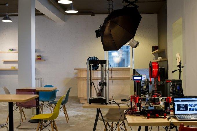 В Москве открылось кафе с 3D-принтерами «3D Plus» . Изображение № 1.