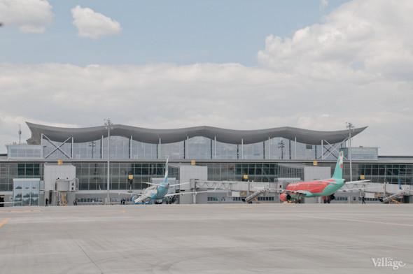 Фоторепортаж: В аэропорту Борисполь открыли самый большой на Украине терминал. Зображення № 28.
