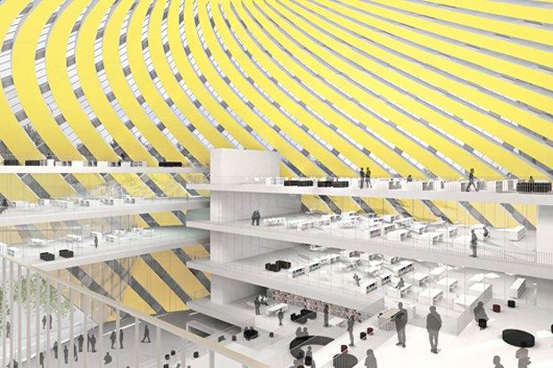 Представлены шесть проектов нового здания Политехнического музея. Изображение № 17.