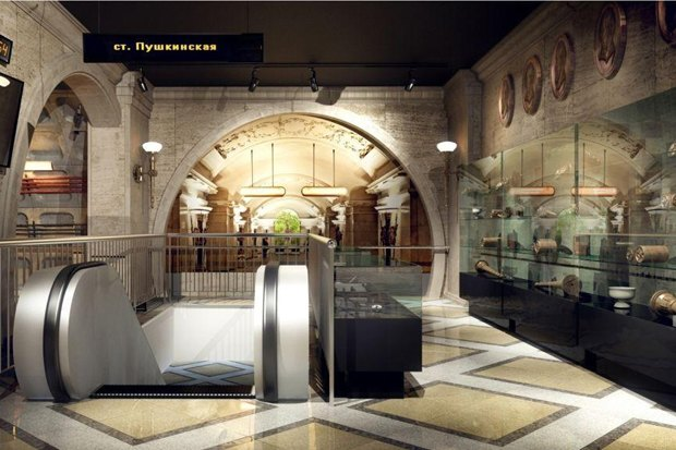 Музей метро станет интерактивным. Изображение № 1.