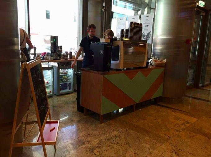 В бизнес-центре «Военторг» открылась кофейня сети Double B. Изображение № 1.