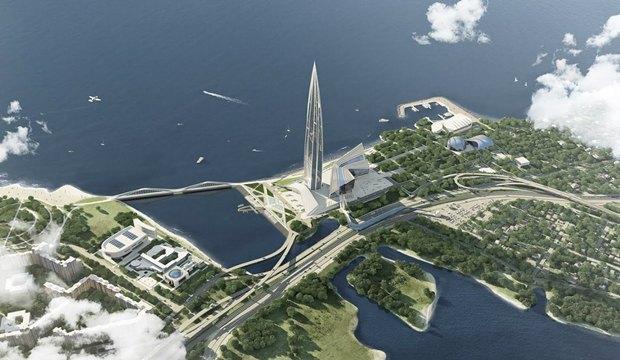 Объявлен победитель пятого конкурса концепций набережной для «Лахта центра». Изображение № 4.