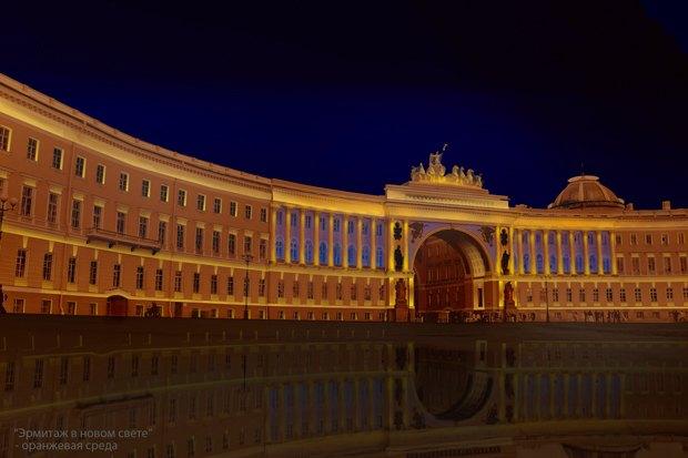 На ночь глядя: 12 проектов подсветки Главного штаба. Изображение № 8.