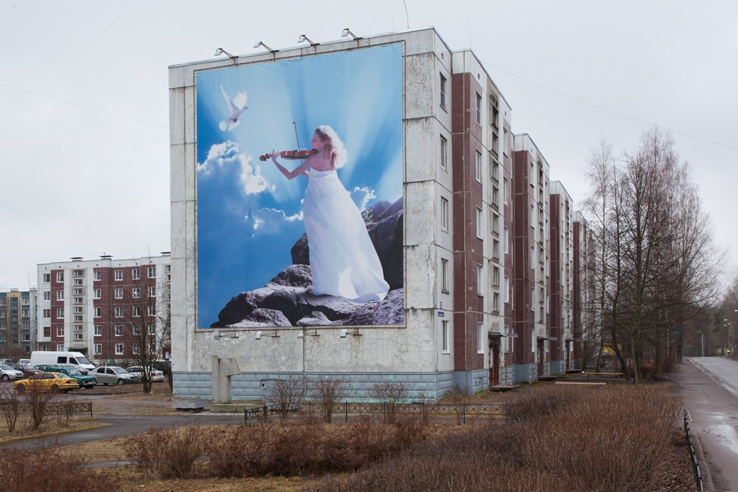 Мемориал на месте обрушения подъезда дома № 12 на улице Гарькавого в Светогорске. Изображение № 7.