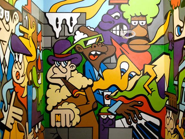 Герб Москвы: Версия граффити-художника Nootk. Изображение №4.