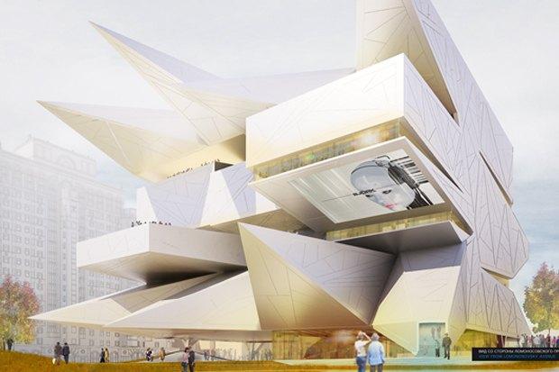 Представлены шесть проектов нового здания Политехнического музея. Изображение № 32.