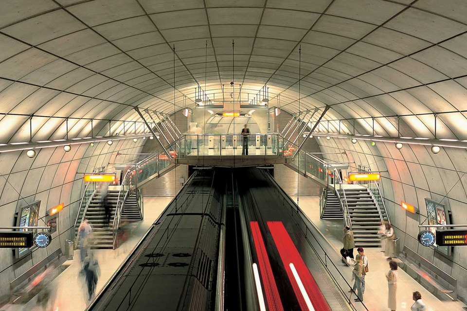7 самых эффектных зарубежных систем метро. Изображение № 5.