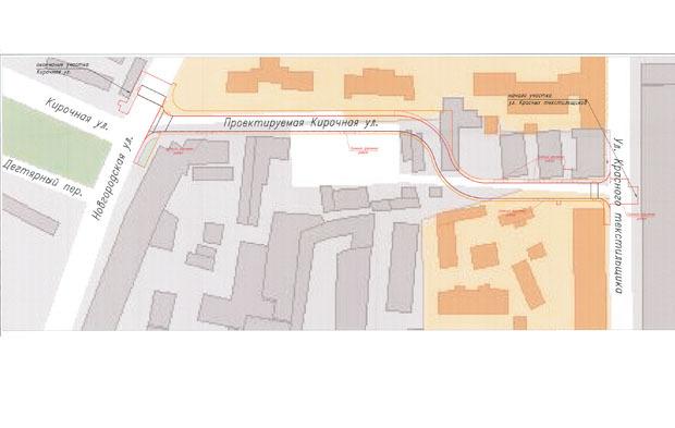 Кирочную улицу продлят до Единого центра документов. Изображение № 1.
