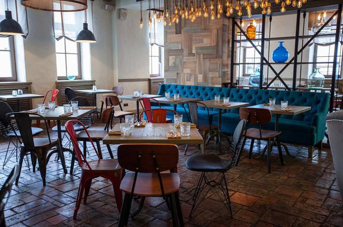 Владельцы ресторана «Мюсли» открыли новое заведение «Утки и вафли». Изображение № 2.