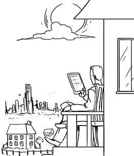 Изображение 5. Будущее покажет: Футурологи о том, какой станет Москва.. Изображение № 6.