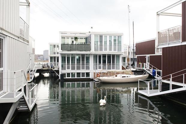 Идеи для города: Плавучие дома вАмстердаме. Изображение № 7.