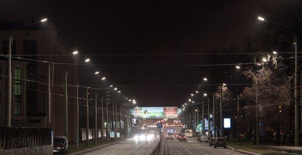 На Светлановском проспекте установили светодиодные фонари. Изображение № 1.
