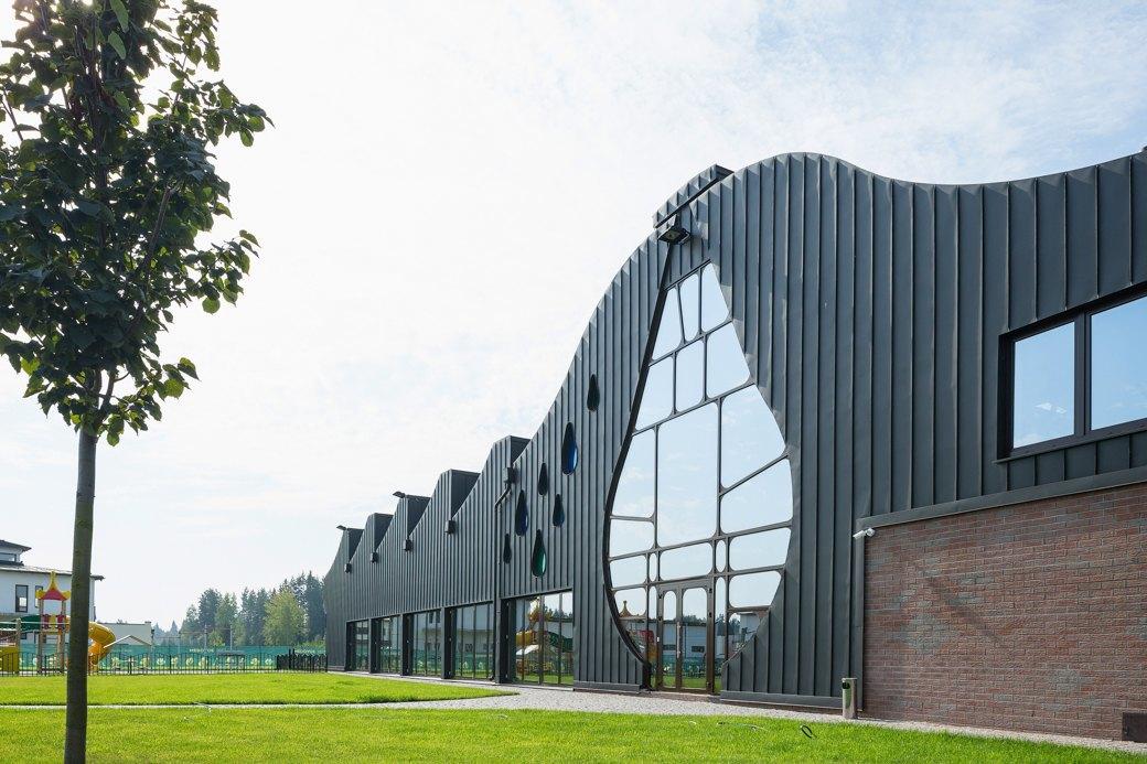 Как выглядит арт-объект Waves— первый дом попроекту Гаэтано Пеше вРоссии. Изображение № 1.