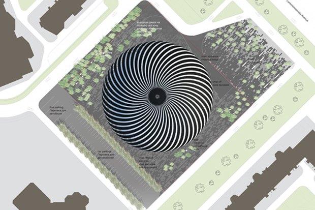 Представлены шесть проектов нового здания Политехнического музея. Изображение № 19.