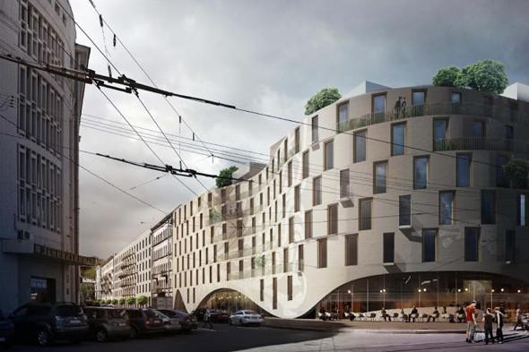 Проект финского архитектурного бюро ALA. Изображение № 1.