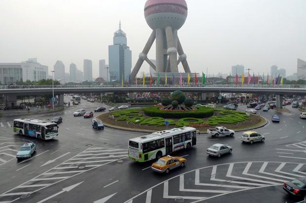 Идеи для города: Круглый пешеходный мост в Шанхае. Изображение № 5.