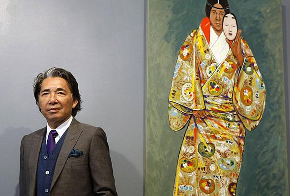 В «М17» пройдёт выставка картин Кензо Такады. Изображение № 1.