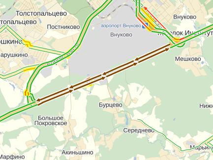 Аэропорт Внуково закрыли из-за аварии самолёта. Изображение №2.