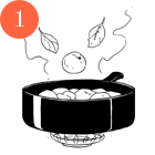 Рецепты шефов: Мороженое счаем матча, с малиной исмоцареллой и базиликом. Изображение № 9.