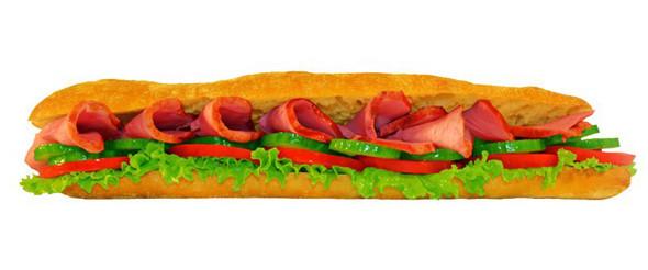 Сэндвич с ветчиной в «Нямс». Изображение № 4.
