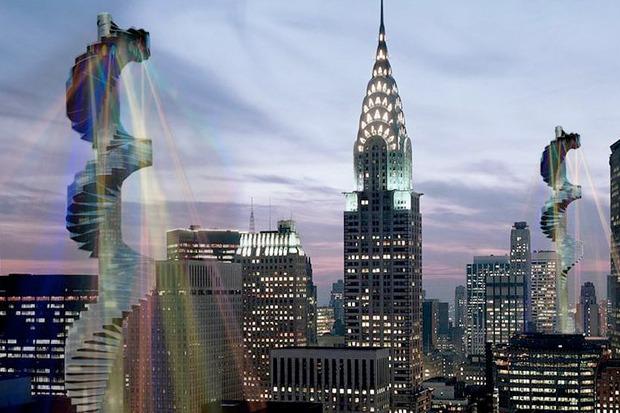 Иностранный опыт: 8 фантастических городских проектов. Изображение № 16.