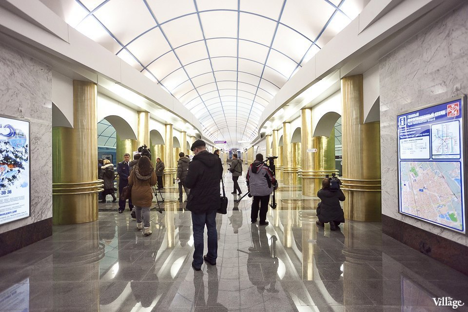Фоторепортаж: Станции метро «Международная» и«Бухарестская» изнутри. Изображение № 26.