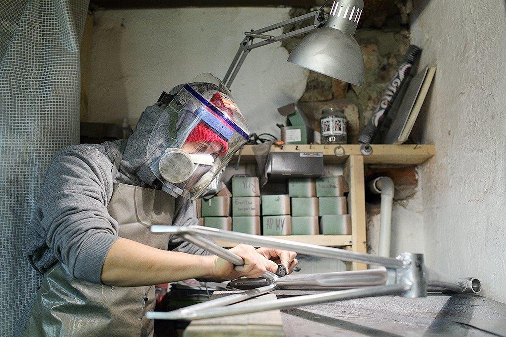 Ingria: Ремонтная мастерская, которая стала делать свои велосипеды. Изображение № 8.