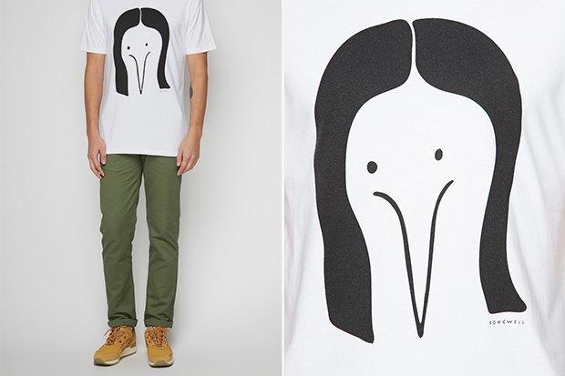Где купить мужскую футболку с задорнымпринтом: 6 вариантов от899 до3900 рублей. Изображение № 6.