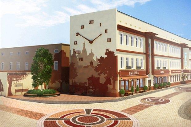 У «Менделеевской» появятся пешеходные зоны в стиле ретро. Изображение № 2.