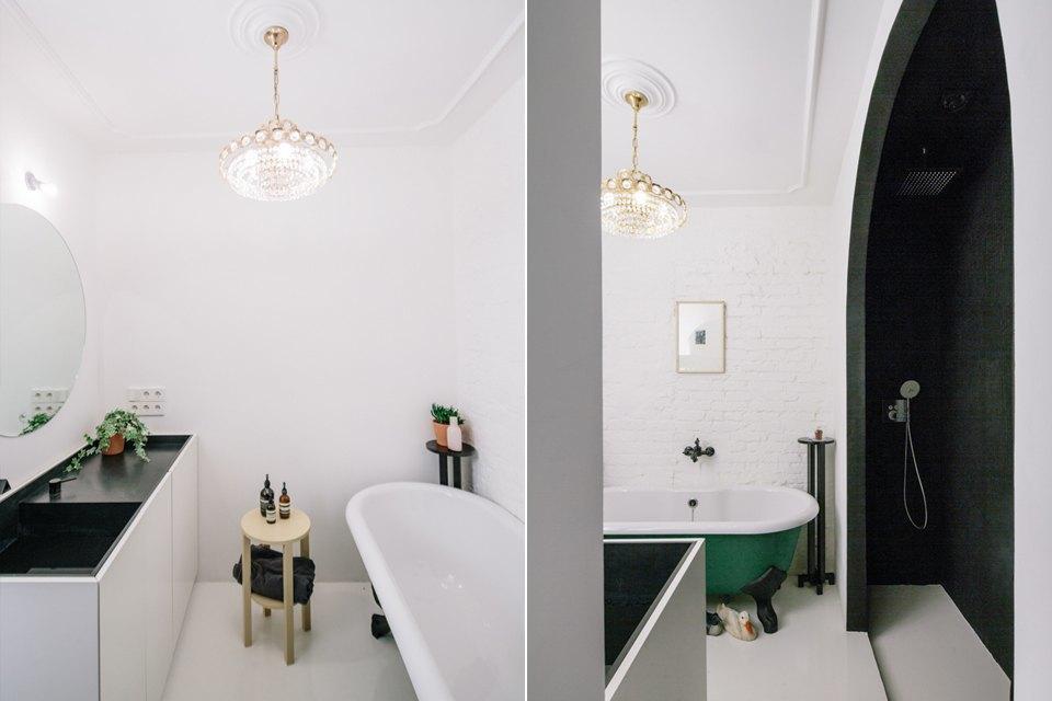 Студия с барным островом внью-йоркском стиле на«Белорусской». Изображение № 18.
