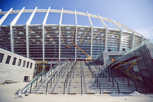 Выходит на арену: Как реконструировали стадион «Олимпийский». Изображение № 12.
