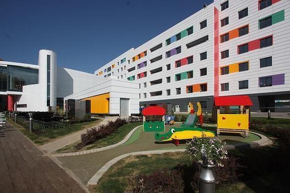 Изображение 12. На юго-западе Москвы открылась разноцветная детская больница.. Изображение № 10.