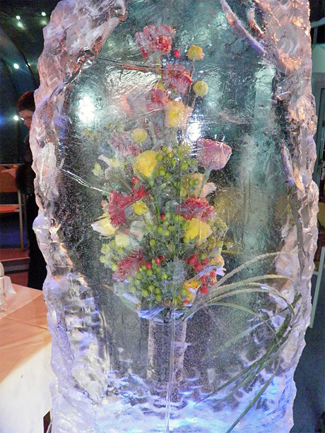На Певческом поле выставят композиции из цветов во льду. Зображення № 3.
