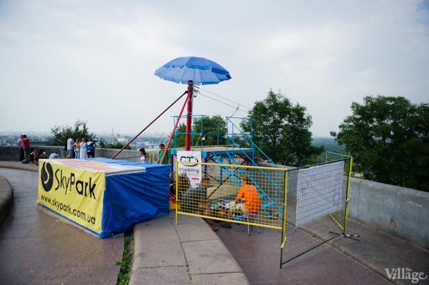Над Днепром появилась верёвочная переправа. Зображення № 3.