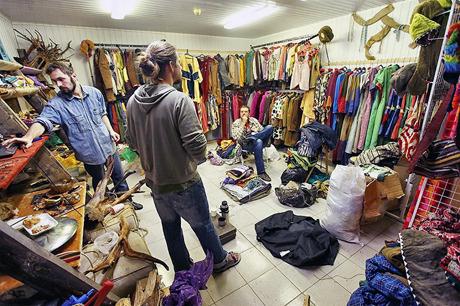 На Андреевском спуске открылся магазин-галерея «Правда, Б». Изображение № 1.