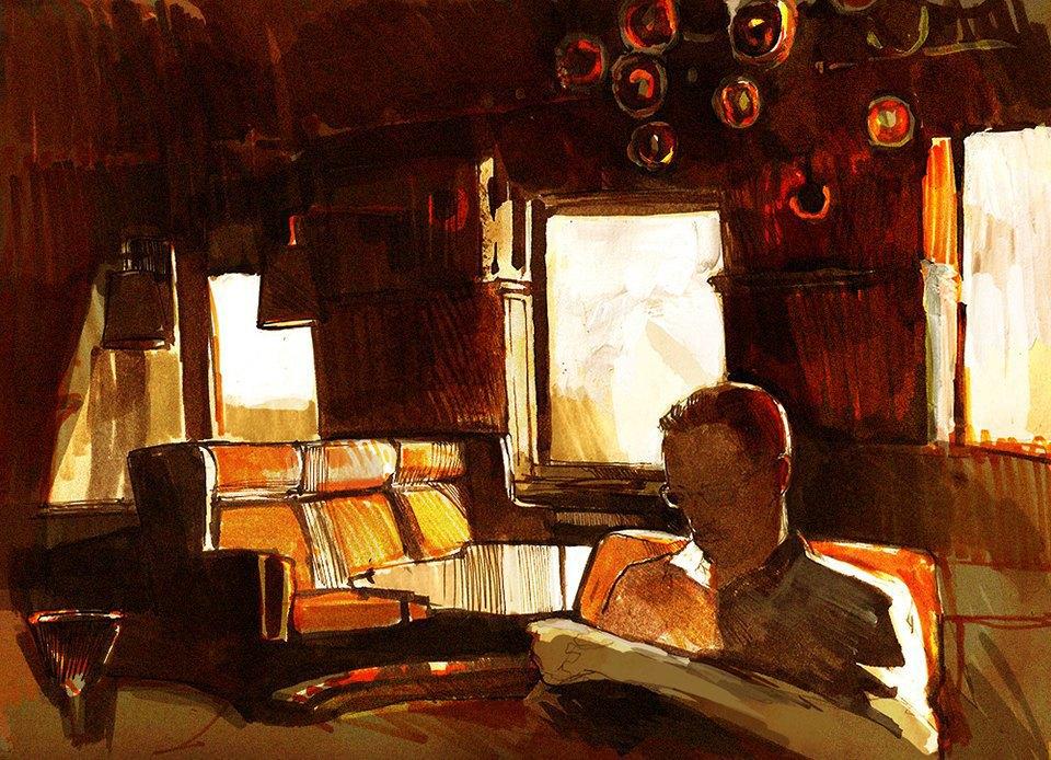 Клуб рисовальщиков: Бар «Стрелка». Изображение № 2.