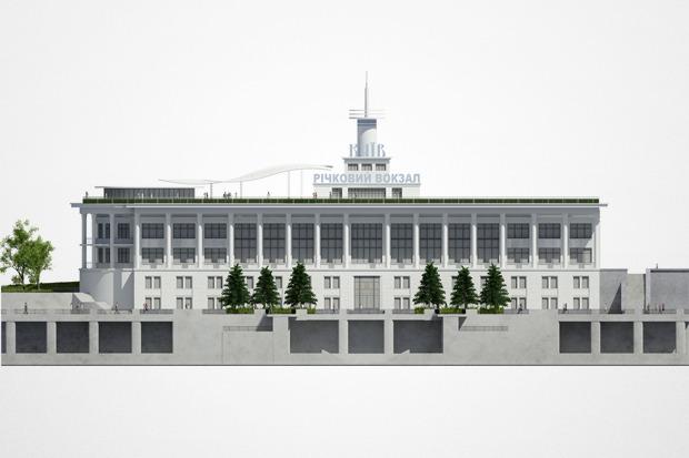 Реконструкция: Как будет выглядеть Речной вокзал. Изображение № 5.