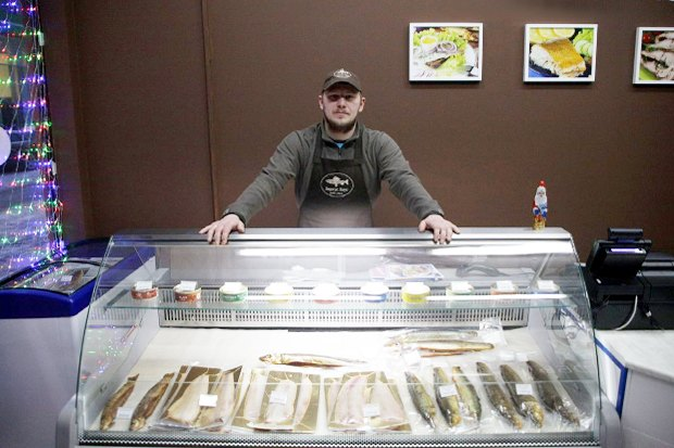 На «Соколе» открылась лавка с сибирской рыбой. Изображение № 3.